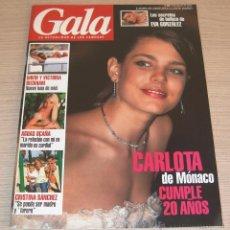 Coleccionismo de Revistas y Periódicos: REVISTA GALA Nº 98 - AGOSTO 2006 - CARLOTA DE MONACO - DAVID & VICTORIA BECKHAM. Lote 57896443