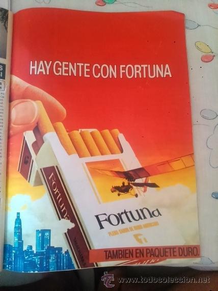RECORTE ANUNCIO TABACO CIGARRILLOS FORTUNA (Coleccionismo - Revistas y Periódicos Modernos (a partir de 1.940) - Otros)