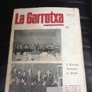 Coleccionismo de Revistas y Periódicos: LA GARROTXA - ANTIGUA REVISTA DE OLOT, AÑO 1970 - Nº1598. ORIGINAL. Lote 44496647