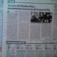 Coleccionismo de Revistas y Periódicos: RECORTE SEAN CONNERY . Lote 44559729