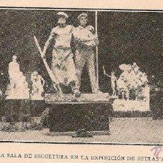 Coleccionismo de Revistas y Periódicos: * MADRID * EXPOSICIÓN DE BELLAS ARTES: SALONES DE ESCULTURA Y PINTURA - 1904. Lote 44639174