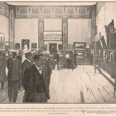 Coleccionismo de Revistas y Periódicos: SALA DE LA EXPOSICIÓN DE BELLAS ARTES ORGANIZADA POR LOS SRES. AMARÉ HERMANOS - 1904. Lote 44641243