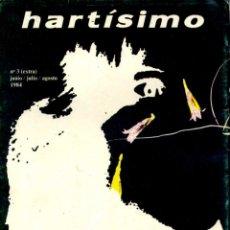 Coleccionismo de Revistas y Periódicos: HARTÍSIMO, N. 3, JUNIO - AGOSTO 1984 ( REVISTA DE ARTE). Lote 44653765