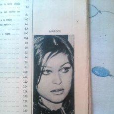 Coleccionismo de Revistas y Periódicos: RECORTE PEPA FLORES MARISOL. Lote 44668003
