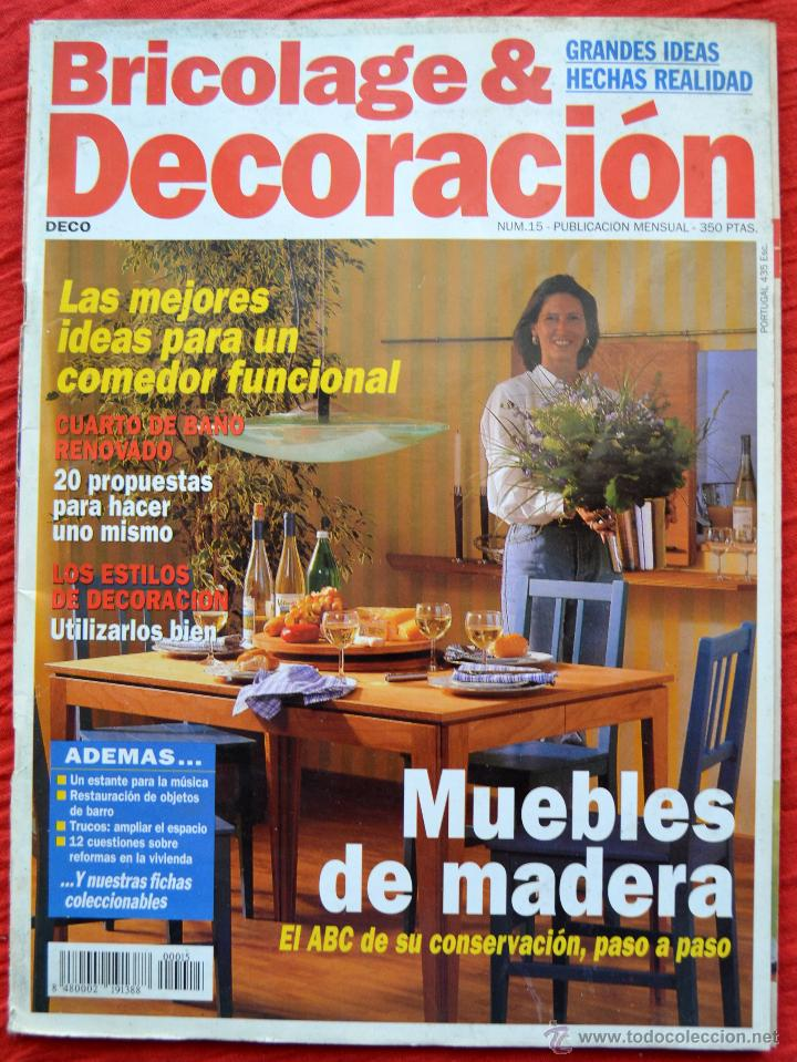 revista bricolage u decoracion num muebles de madera revistas y