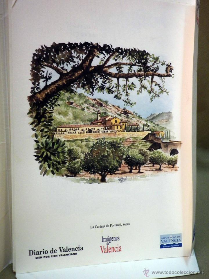 Coleccionismo de Revistas y Periódicos: COLECCIONABLE DIARIO DE VALENCIA, 32 ACUARELAS DE ARTURO MARIA, SEGUNDA SERIE - Foto 2 - 44696287