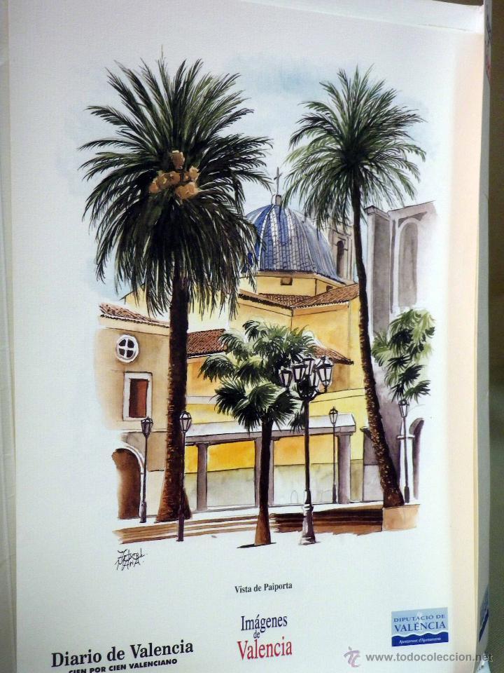 Coleccionismo de Revistas y Periódicos: COLECCIONABLE DIARIO DE VALENCIA, 32 ACUARELAS DE ARTURO MARIA, SEGUNDA SERIE - Foto 4 - 44696287