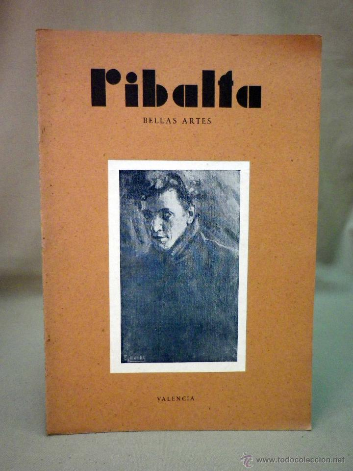 REVISTA RIBALTA, CIRCULO BELLAS ARTE, Nº 67, JULIO DE 1949, VALENCIA, NAVAS (Coleccionismo - Revistas y Periódicos Modernos (a partir de 1.940) - Otros)