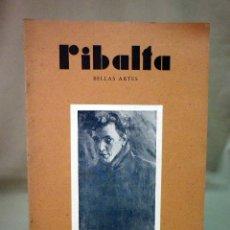 Coleccionismo de Revistas y Periódicos: REVISTA RIBALTA, CIRCULO BELLAS ARTE, Nº 67, JULIO DE 1949, VALENCIA, NAVAS. Lote 44708575