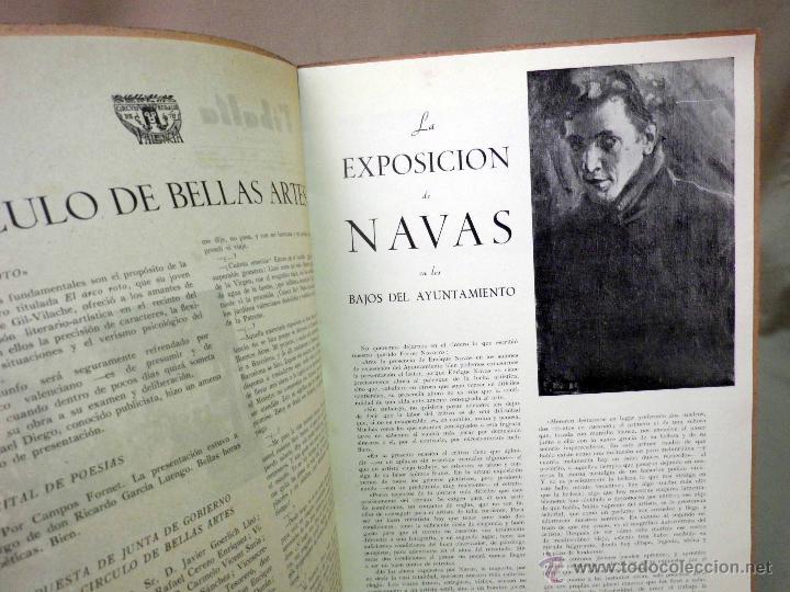 Coleccionismo de Revistas y Periódicos: REVISTA RIBALTA, CIRCULO BELLAS ARTE, Nº 67, JULIO DE 1949, VALENCIA, NAVAS - Foto 3 - 44708575