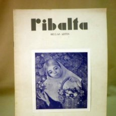 Coleccionismo de Revistas y Periódicos: REVISTA RIBALTA, CIRCULO BELLAS ARTE, Nº 135, MARZO DE 1955, VALENCIA, MULET. Lote 44708597