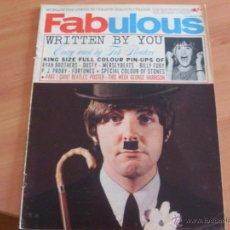 Coleccionismo de Revistas y Periódicos: FABULOUS MAGAZINE 8TH JANUARY 1966 (BEATLES, ROLLING STONES, MERSEYBEATS, FORTUNES..)(REV5). Lote 44740224