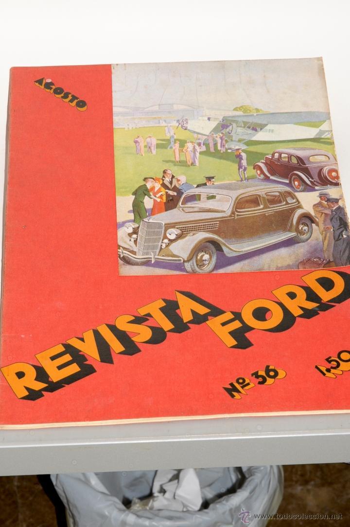 ANTIGUA REVISTA FORD Nº 36 AÑO 1935 (Coleccionismo - Revistas y Periódicos Antiguos (hasta 1.939))