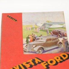 Coleccionismo de Revistas y Periódicos: ANTIGUA REVISTA FORD Nº 36 AÑO 1935. Lote 44746281