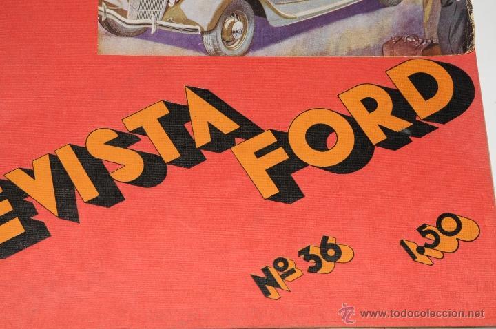 Coleccionismo de Revistas y Periódicos: ANTIGUA REVISTA FORD Nº 36 AÑO 1935 - Foto 2 - 44746281