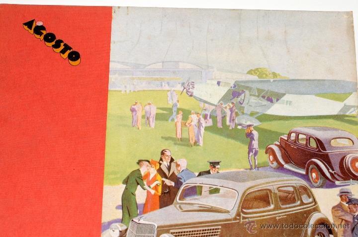 Coleccionismo de Revistas y Periódicos: ANTIGUA REVISTA FORD Nº 36 AÑO 1935 - Foto 3 - 44746281