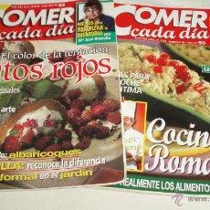 Coleccionismo de Revistas y Periódicos: DOS REVISTAS COMER CADA DIA AÑO 1999 - 2000. Lote 44759257
