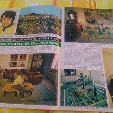 Coleccionismo de Revistas y Periódicos: RECORTE PALOMO LINARES. Lote 44770268