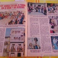 Coleccionismo de Revistas y Periódicos: RECORTE PEPE DOMINGO MANOLO OTERO. Lote 44779969