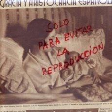 Coleccionismo de Revistas y Periódicos: TOTO ALIAGA 1934 DUQUESA DE ALBA 2 HOJAS REVISTA. Lote 44797674