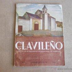 Coleccionismo de Revistas y Periódicos: REVISTA CLAVILEÑO NOVIEMBRE DICIEMBRE DE 1956 - NUMERO 42. Lote 44798539