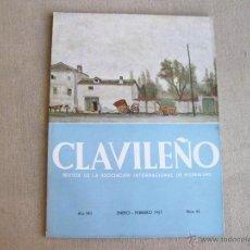 Coleccionismo de Revistas y Periódicos: REVISTA CLAVILEÑO ENERO FEBRERO DE 1957 - NUMERO 43 - BUEN ESTADO. Lote 44798557