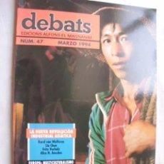 Coleccionismo de Revistas y Periódicos: DEBATS Nº 47 MARZO 1994. Lote 44811164
