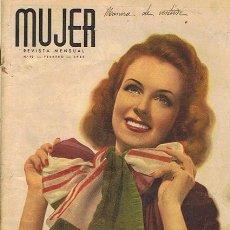 Coleccionismo de Revistas y Periódicos: REVISTA MUJER N.92 FEBRERO 1945 . Lote 44827539