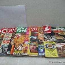 Coleccionismo de Revistas y Periódicos: LOTE DE 9 REVISTAS DE GASTRONOMÍA Y COCINA LECTURAS MI FAMILIA Y YO COCINA MÍA COMER CADA DÍA. Lote 44851809