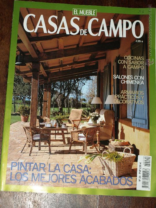 Revista de decoracion casas de campo el mueble comprar for Decoracion casas de campo