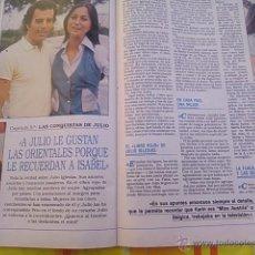 Coleccionismo de Revistas y Periódicos: RECORTE JULIO IGLESIAS ISABEL PREYSLER . Lote 44881189
