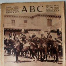 Coleccionismo de Revistas y Periódicos: PERIÓDICO ABC 28 AGOSTO 1934. GUARDIA MUNICIPAL DE MADRID, VERANEO EN LAS PISCINAS, CASTUERA, TEATRO. Lote 44932591