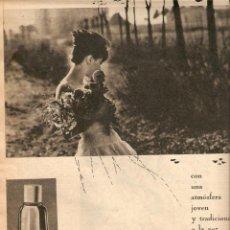 Coleccionismo de Revistas y Periódicos: AÑO 1961 RECORTE PUBLICIDAD JABON COLONIA AGUA LAVANDA PUIG PERFUMERIA. Lote 44960621