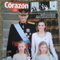 Coleccionismo de Revistas y Periódicos: REVISTA -- HOY CORAZON -- VIVA EL REY, FELIPE VI-- Nº 400 --. Lote 44964982
