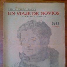 Colecionismo de Revistas e Jornais: REVISTA LITERARIA, NOVELAS Y CUENTOS. UN VIAJE DE NOVIOS, DE EMILIA PARDO BAZÁN. AÑOS 30. Lote 44998004