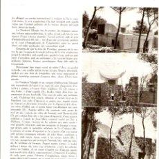 Coleccionismo de Revistas y Periódicos: AÑO 1962 RECORTE PRENSA ARQUITECTURA ULTIMA OBRA DE JOSEP LLUIS SERT FUNDACION MAEGHT. Lote 44998723