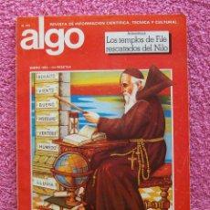 Coleccionismo de Revistas y Periódicos: ALGO 372 EL HOMBRE YA PUEDE FABRICAR EL CLIMA REVISTA ALGO 1982. Lote 45018843