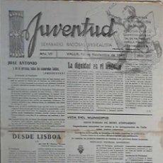 Coleccionismo de Revistas y Periódicos: 357 L20 SEMANARIO JUVENTUD EKL PERIODICO DE VALLS (TARRAGONA) 19/11/49 ~ VIDA LOCAL AVISOS DEPORTES. Lote 45022744