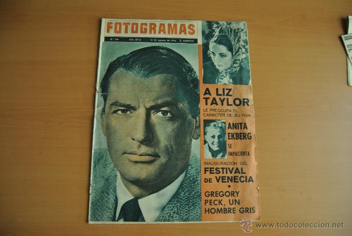 REVISTA FOTOGRAMAS (Coleccionismo - Revistas y Periódicos Modernos (a partir de 1.940) - Otros)