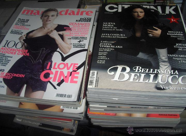 Coleccionismo de Revistas y Periódicos: 145 REVISTA FEMENINA COSMOPOLITAN MARIE CLAIRE VOGUE GLAMOUR VANITY FAIR CITIZEN K TELVA. AMPLIADO! - Foto 2 - 45065154