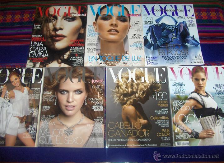 Coleccionismo de Revistas y Periódicos: VOGUE ESPAÑA. - Foto 7 - 45065154