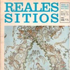 Coleccionismo de Revistas y Periódicos: REALES SITIOS , Nº 3, 5, 11 - REVISTA DEL PATRIMONIO NACIONAL. Lote 45097739