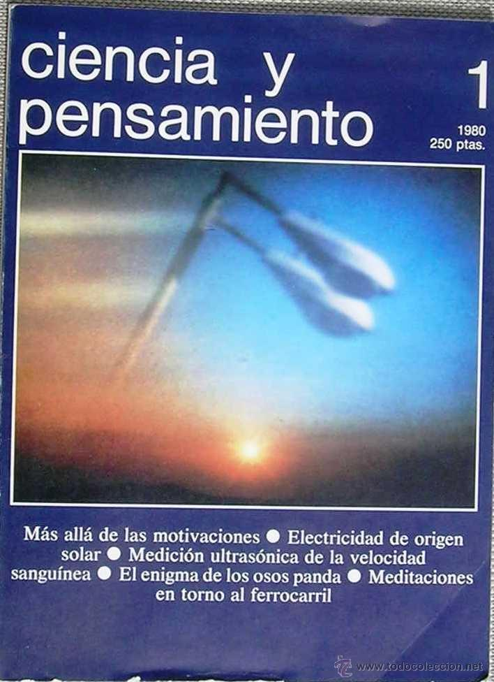 CIENCIA Y PENSAMIENTO, Nº 1 REVISTA 1980 (Coleccionismo - Revistas y Periódicos Modernos (a partir de 1.940) - Otros)