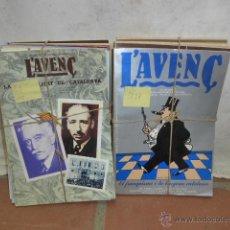 Coleccionismo de Revistas y Periódicos: REVISTA L'AVENÇ, HISTORIA DELS PAISOS CATALANS. AÑOS 70, TRANSICION. DE LA 0 A LA 22. L' AVENÇ. Lote 45108317
