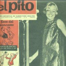 Coleccionismo de Revistas y Periódicos: EL PITO Nº 62 (AÑO 1968). REVISTA DEPORTIVA DE HUMOR PARA ADULTOS. MARIA CINTA. CHISTES CASTILLO.... Lote 45123073