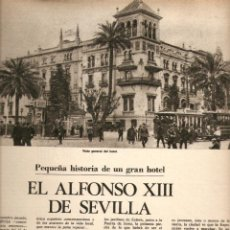 Coleccionismo de Revistas y Periódicos: AÑO 1975 SEVILLA HOTEL ALFONSO XIII HUELGA ACTORES CRISIS TEXTIL LANA TEATRO GALLEGO . Lote 45141853