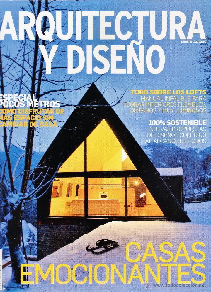 Revista arquitectura y dise o casas emocion comprar otras revistas y peri dicos modernos - Arquitectura y diseno ...