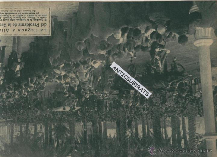 Coleccionismo de Revistas y Periódicos: REVISTA AÑO 1932 PORT DE LA SELVA EL PRESIDENTE DE LA REPUBLICA ESPAÑOLA EN ALICANTE Y ELDA FOTOS - Foto 2 - 45203572