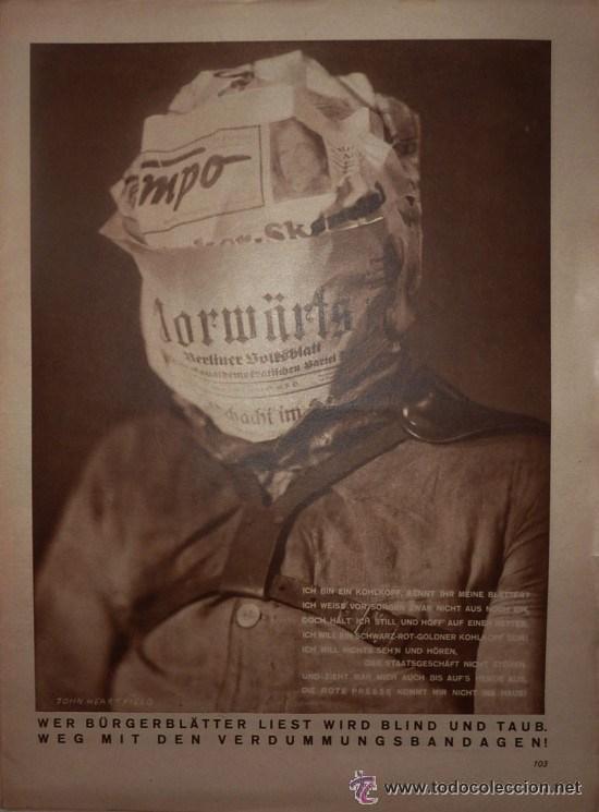 ARBEITER ILLUSTRIERTER ZEITUNG 1929-1930, AIZ (Coleccionismo - Revistas y Periódicos Antiguos (hasta 1.939))