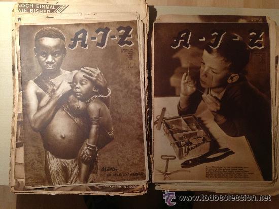 Coleccionismo de Revistas y Periódicos: Arbeiter Illustrierter Zeitung 1929-1930, AIZ - Foto 3 - 45236829